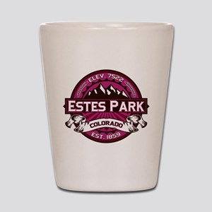 Estes Park Raspberry Shot Glass