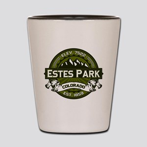 Estes Park Olive Shot Glass