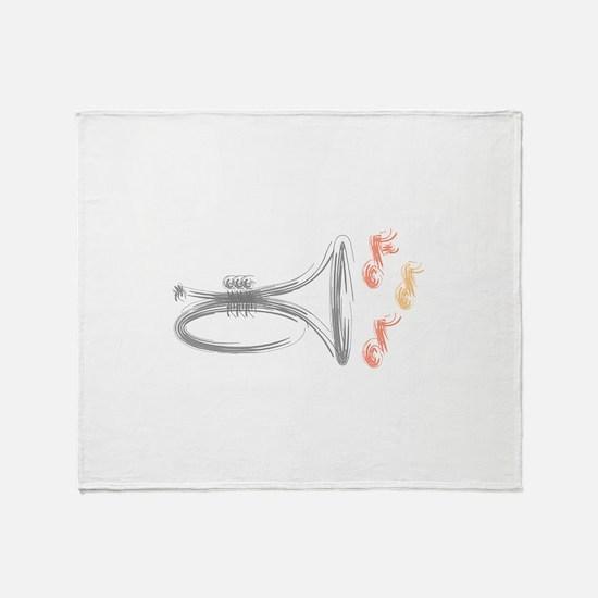 Mellphone Sketch Throw Blanket