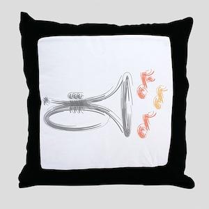 Mellphone Sketch Throw Pillow