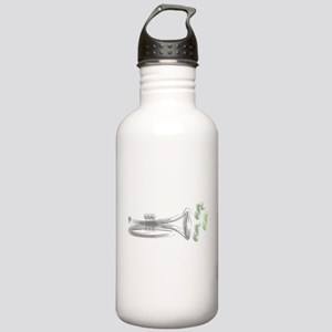 Trumpet Sketch Stainless Water Bottle 1.0L