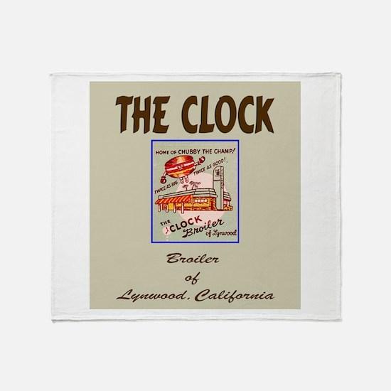 The Clock Broiler Lynwood Throw Blanket