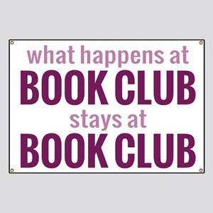What Happens at Book Club Banner