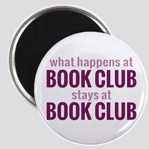 What Happens at Book Club Magnet