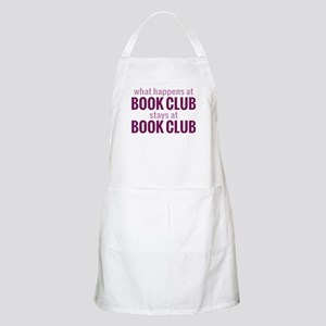 What Happens at Book Club Apron