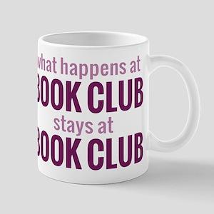 What Happens at Book Club Mug