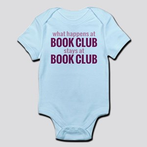 What Happens at Book Club Infant Bodysuit
