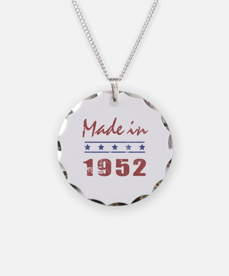 Made In 1952 Necklace