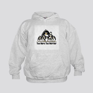 The More.. Penguin Group Kids Hoodie