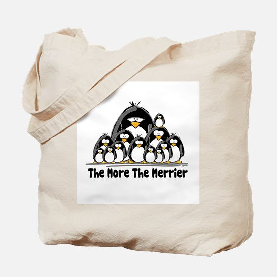The More.. Penguin Group Tote Bag