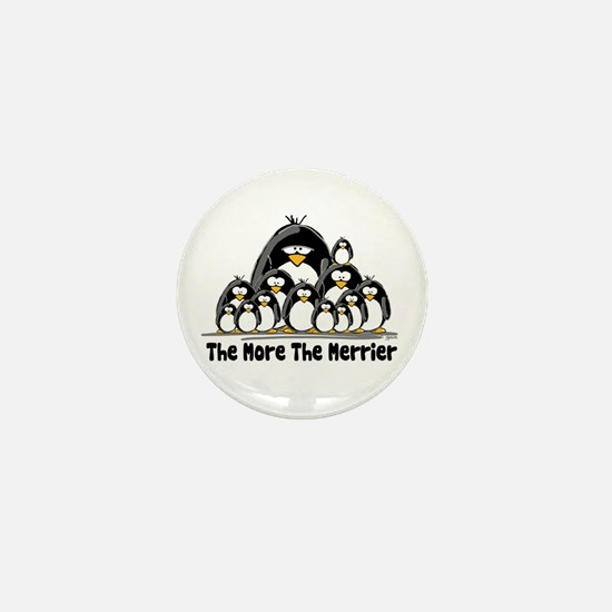 The More.. Penguin Group Mini Button