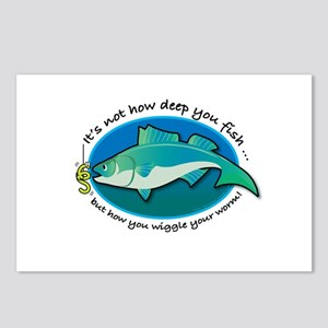 Wiggle Your Worm Postcards (Package of 8)