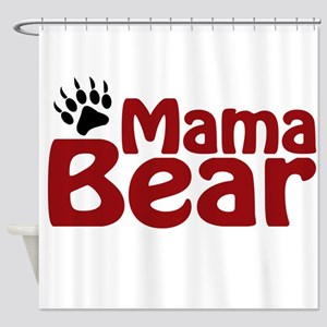 Mama Bear Claw Shower Curtain