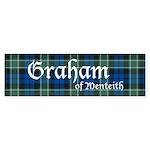 Tartan - Graham of Menteith Sticker (Bumper 10 pk)