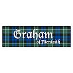 Tartan - Graham of Menteith Sticker (Bumper 50 pk)