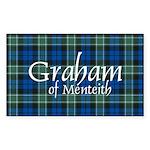 Tartan - Graham of Menteith Sticker (Rectangle 50