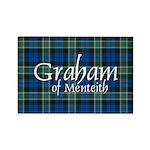 Tartan - Graham of Menteith Rectangle Magnet (10 p