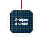 Tartan - Graham of Menteith Ornament (Round)