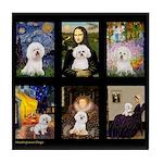Bichon Masterpieces (A) Tile Coaster