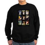 Bichon Masterpieces (A) Sweatshirt (dark)