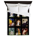 Bichon Masterpieces (A) Queen Duvet