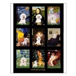 Bichon Masterpieces (A) Small Poster