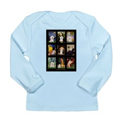 Bichon Masterpieces (A) Long Sleeve Infant T-Shirt