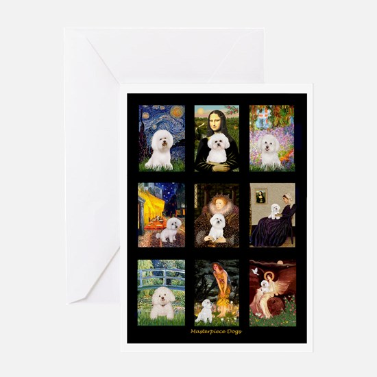 Bichon Masterpieces (A) Greeting Card
