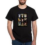 Bichon Masterpieces (A) Dark T-Shirt