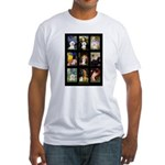 Bichon Masterpieces (A) Fitted T-Shirt