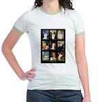 Bichon Masterpieces (A) Jr. Ringer T-Shirt