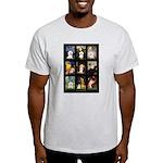 Bichon Masterpieces (A) Light T-Shirt