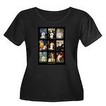 Bichon Masterpieces (A) Women's Plus Size Scoop Ne
