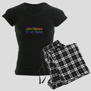Spirithaven is my home Women's Dark Pajamas