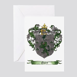 Gary Shield of Arms Greeting Cards (Pk of 10)