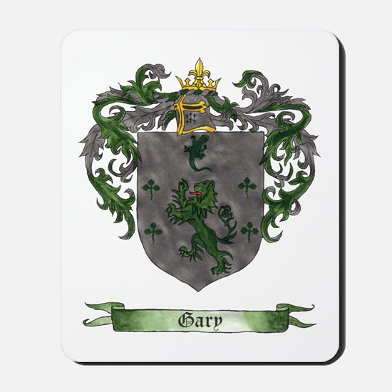 Gary Shield of Arms Mousepad