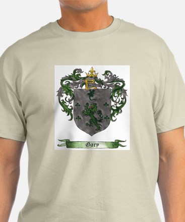 Gary Shield of Arms Ash Grey T-Shirt