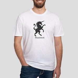 Unicorn-MacKintosh hunting Fitted T-Shirt