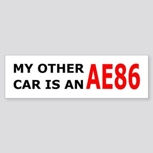 My other car is an AE86 Bumper Sticker