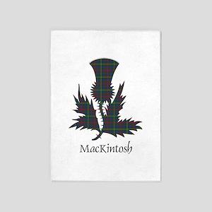 Thistle-MacKintosh hunting 5'x7'Area Rug