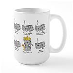 The Cat Large Mug