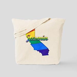 Jasmin, California. Gay Pride Tote Bag