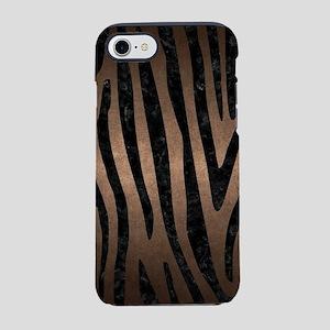 SKIN4 BLACK MARBLE & BRONZE ME iPhone 7 Tough Case