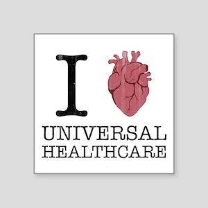 I Heart Universal Healthcare Sticker