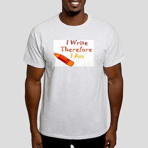 Writer in You Ash Grey T-Shirt