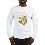 Anatomy Shirt - 'Heart' Long Sleeve T-Shirt