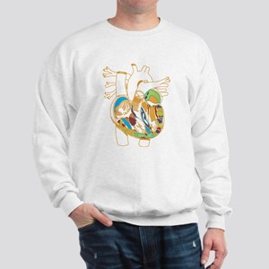 Anatomy Shirt - 'Heart' Sweatshirt