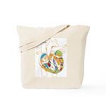 Anatomy Shirt - 'Heart' Tote Bag