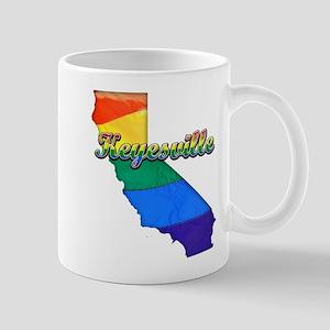 Keyesville, California. Gay Pride Mug