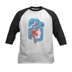 Anatomy Shirt - 'Gastrointest Kids Baseball Jersey